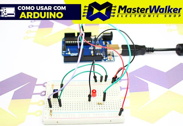 Como usar com Arduino – Sensor Óptico Reflexivo TCRT5000