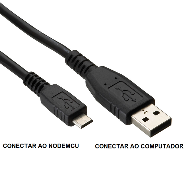 Intalação do NodeMCU no Windows com Cabo USB