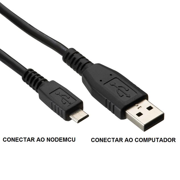 Intalação do NodeMCU no Windows com Cabo USB