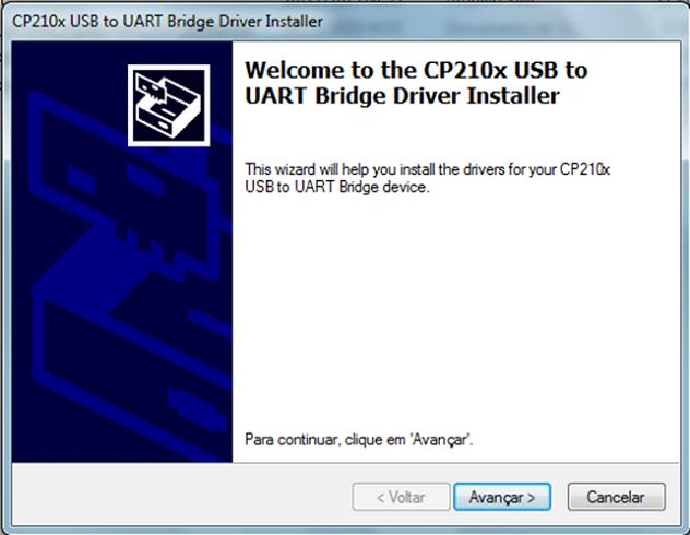Intalação do NodeMCU no Windows Driver CP210x