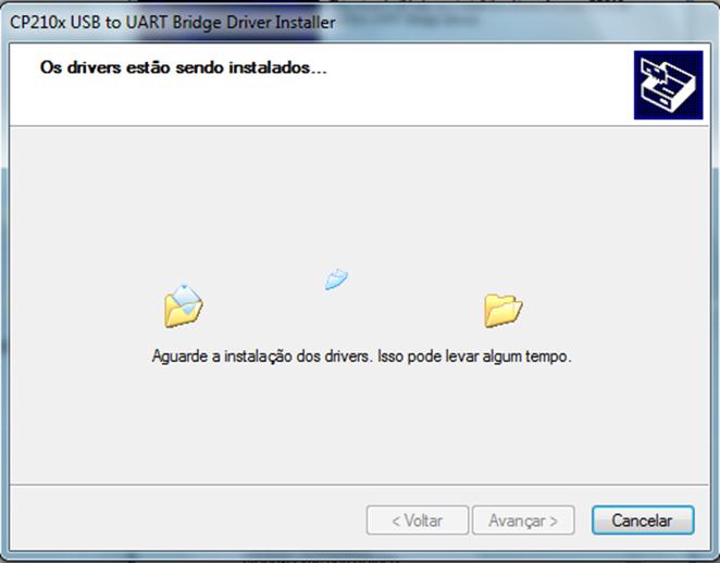 Intalação do NodeMCU no Windows Driver CP210x Copiando