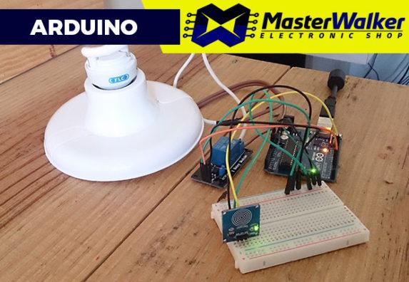 Arduino – Controlando uma Lâmpada com o Sensor Capacitivo Touch TTP223B