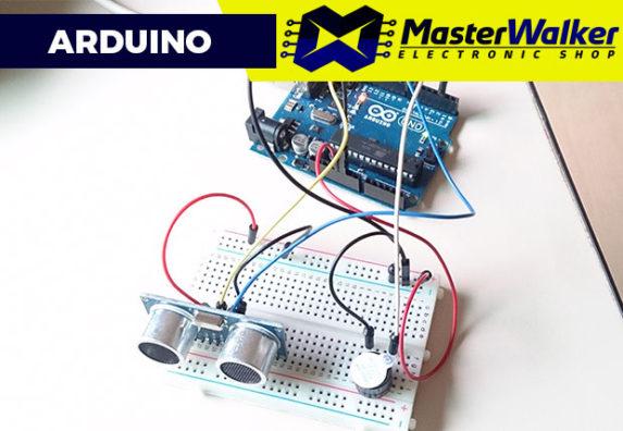 Arduino – Utilizando o Sensor Ultrasonico HC-SR04 e Buzzer 5V