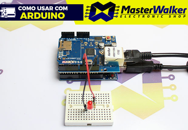 Como usar com Arduino – Ethernet Shield W5100 (Web server)