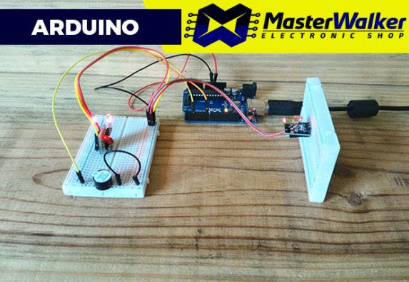 Arduino – Utilizando o Módulo Receptor de Laser
