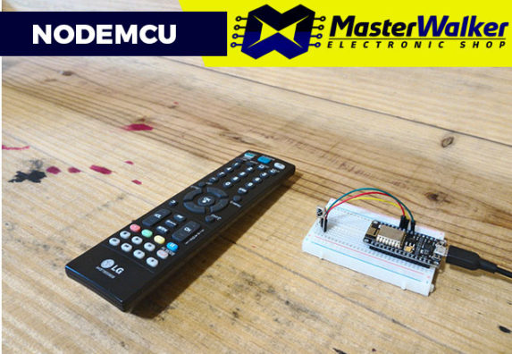 NodeMCU – Clonando Teclas do Controle Remoto (Método RAW)