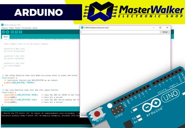 Arduino – Exibindo e lendo dados da serial