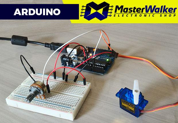 Arduino – Controle de Servo Motor SG90 9g através de Potenciômetro