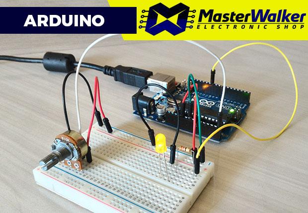 Arduino – Utilizando o Potenciômetro Linear