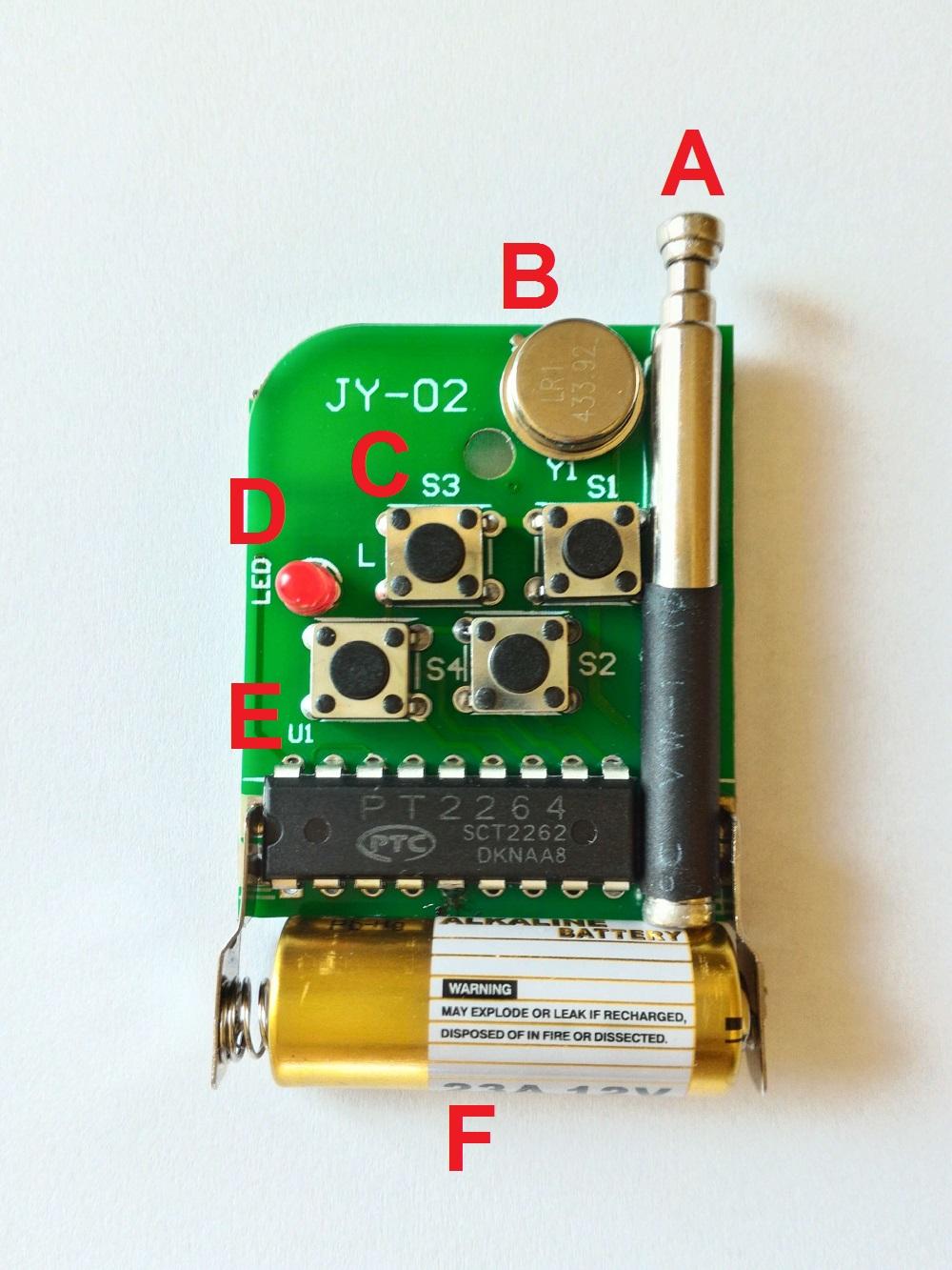img01_utilizando_controle_remoto_rf_e_receptor_rf_433_315_mhz_arduino_pisca_piscando_led