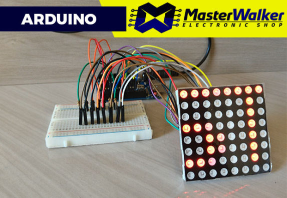 Arduino – Utilizando a Matriz de LED 5mm 8X8