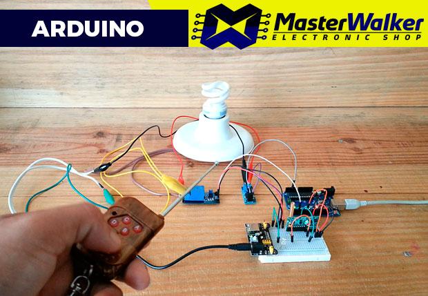 Arduino – Controle de Lâmpada através de RF e Interruptor
