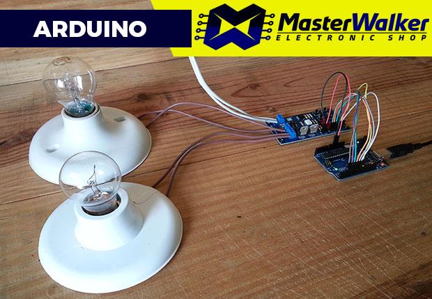 Arduino – Utilizando o Módulo Dimmer AC de 2 Canais