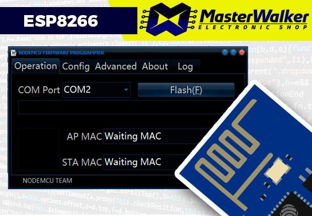 Instalando o Firmware NodeMCU no ESP8266 ESP-01