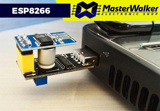 Modificando o Adaptador USB Serial WiFi ESP8266 para Upgrade do ESP-01