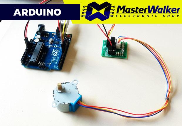 Arduino – Utilizando Motor de Passo 28BYJ-48 e Driver ULN2003