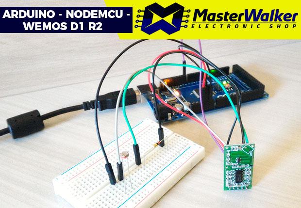 Arduino – Utilizando o Sensor Microondas RCWL-0516