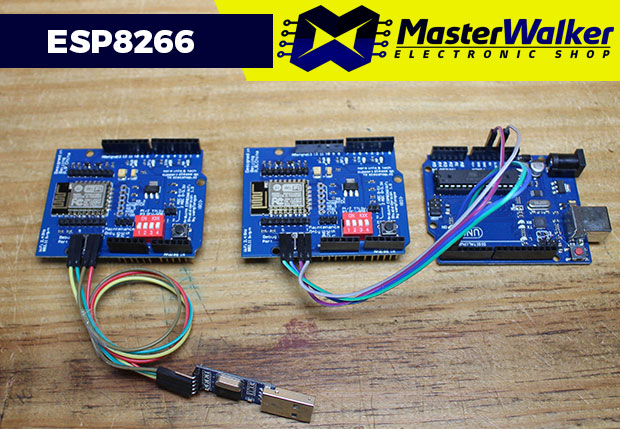 Upgrade de Firmware no Shield WiFi ESP8266 para Arduino