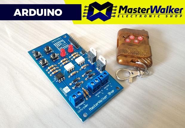 Arduino – Controle do Módulo Dimmer AC através do KIT RF