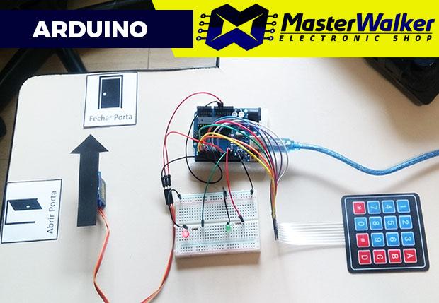 Arduino – Simulando fechadura controlada por senha