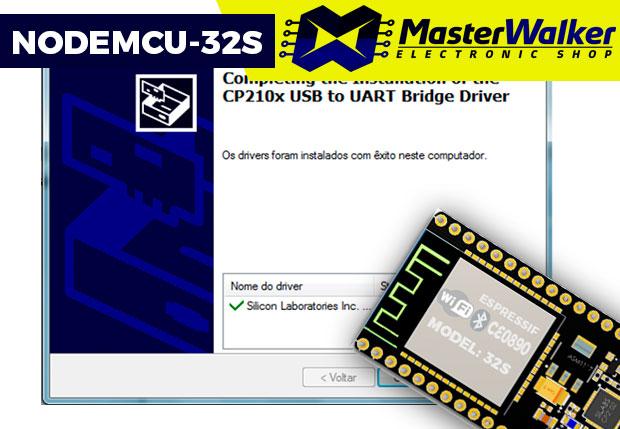 NodeMCU-32S ESP32 – Instalação no Windows