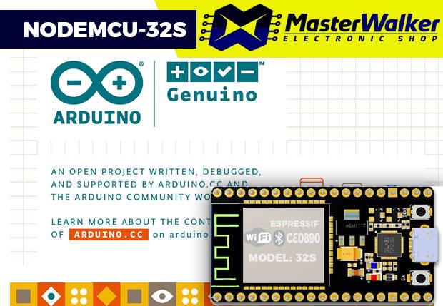 NodeMCU-32S ESP32 – Programando com a IDE do Arduino