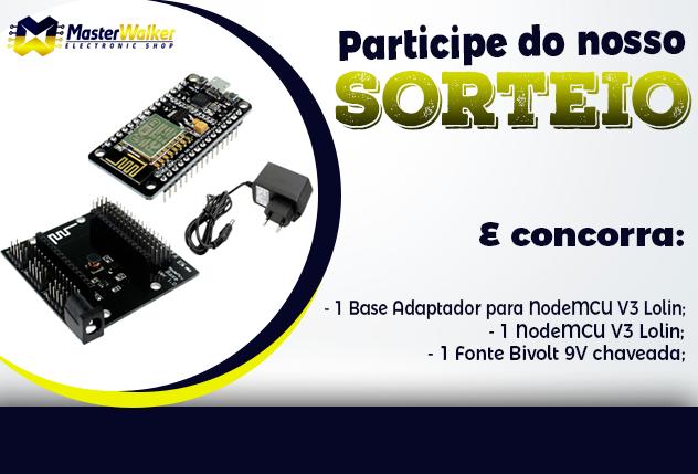 [ENCERRADO] Sorteio – KIT Base Adaptador NodeMCU V3