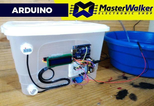 Arduino – Detector de Nível de Líquido sem contato com o Sensor XKC-Y25-PNP