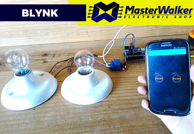 Blynk – Automação Residencial de Lâmpadas com Arduino