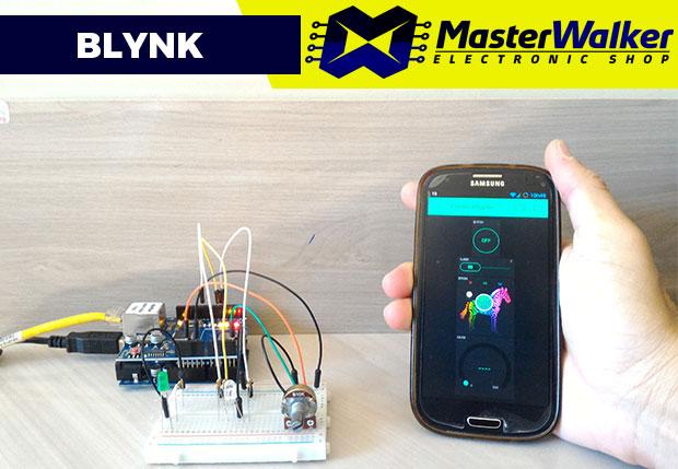 Blynk – Executando os Primeiros Projetos com Arduino