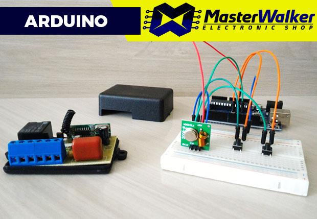 Arduino - Utilizando o Interruptor Módulo Relé com RF 433MHz