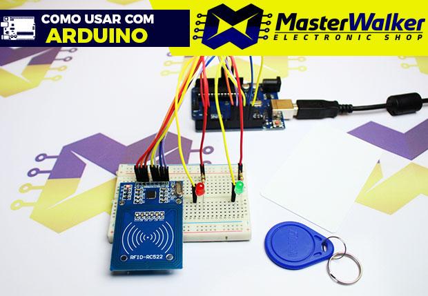 Como usar com Arduino – KIT RFID MFRC522