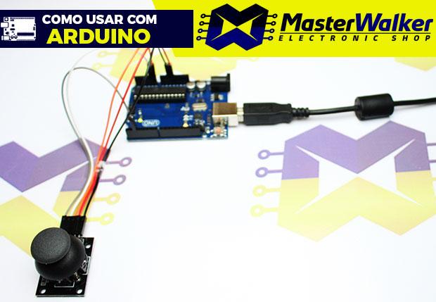 Como usar com Arduino – Módulo Joystick KY-023