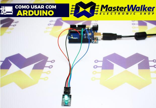Como usar com Arduino – Módulo Led RGB KY-016