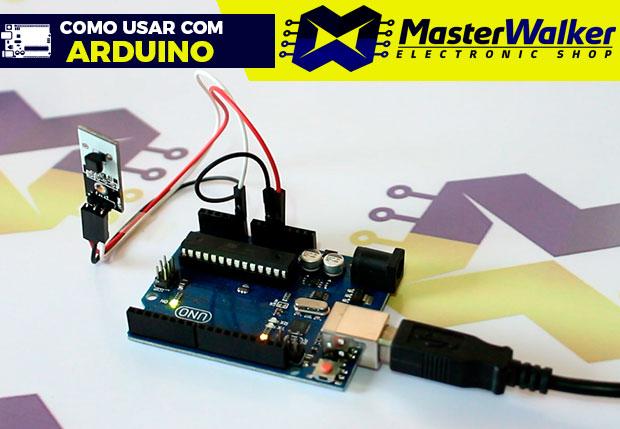 Como usar com Arduino – Módulo Sensor de Temperatura LM35