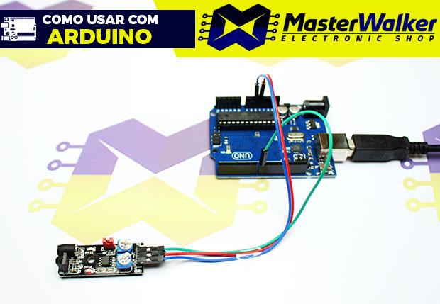 Como usar com Arduino – Módulo Sensor Infravermelho Reflexivo de Obstáculo KY-032