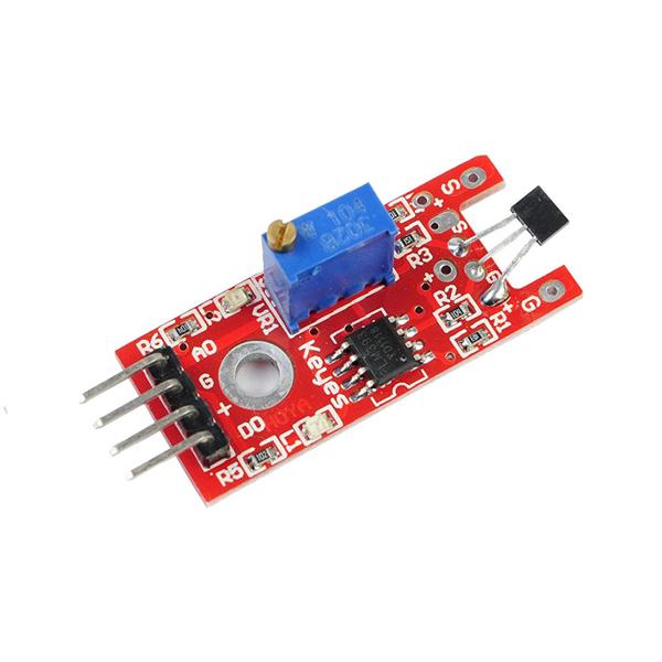 Como usar com Arduino - Sensor Hall de Campo Magnético KY