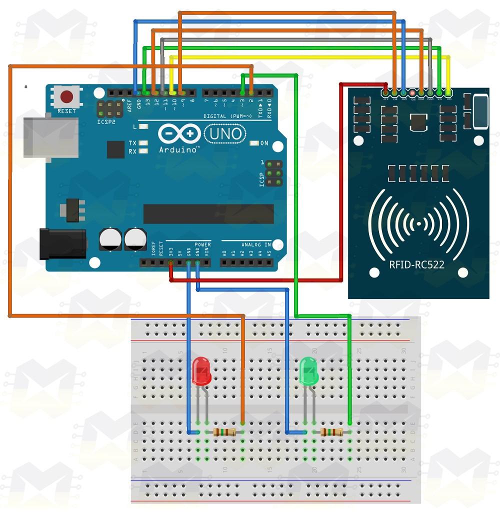 Como usar com Arduino - KIT RFID MFRC522 - BLOG MASTERWALKER