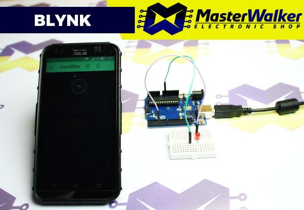 Blynk – Controle do Arduino pela Internet usando a conexão USB