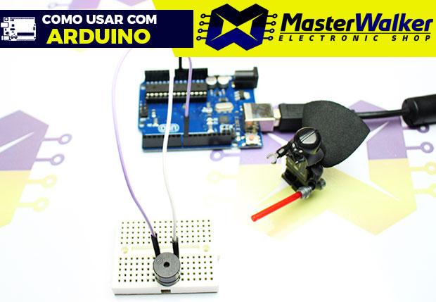 Como usar com Arduino – Buzzer 5V Ativo