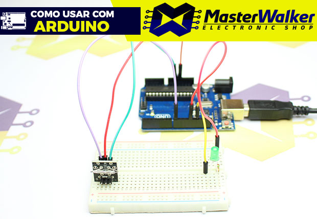 Como usar com Arduino – Módulo Chave Magnética Reed Switch KY-021