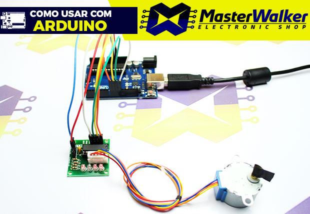 Como usar com Arduino – Motor de Passo 28BYJ-48 com Driver ULN2003