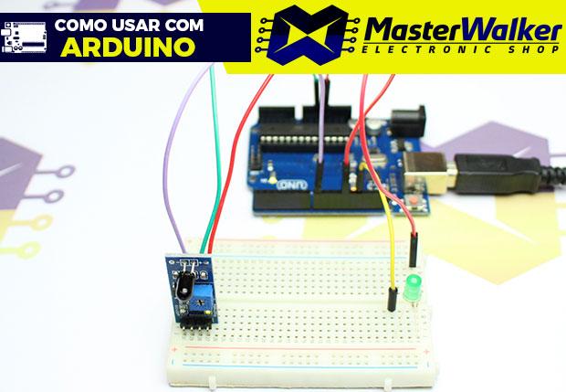 Como usar com Arduino – Sensor Detector de Fogo / chama Infravermelho