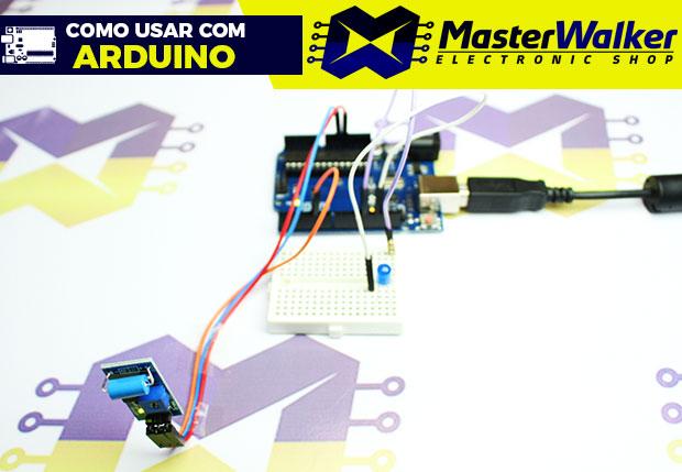Como usar com Arduino – Sensor (Detector) de Vibração – SW-420