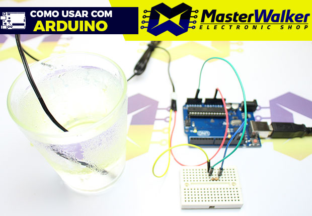 Como usar com Arduino – Sensor de Temperatura NTC 10K 3950 Prova D'água do Tipo Sonda