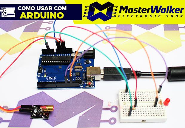 Como usar com Arduino – Módulo Laser LED 6mm 650nm de Alta Potência