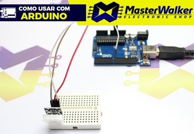Como usar com Arduino – Módulo Sensor (Detector) de Toque Batida KY-031