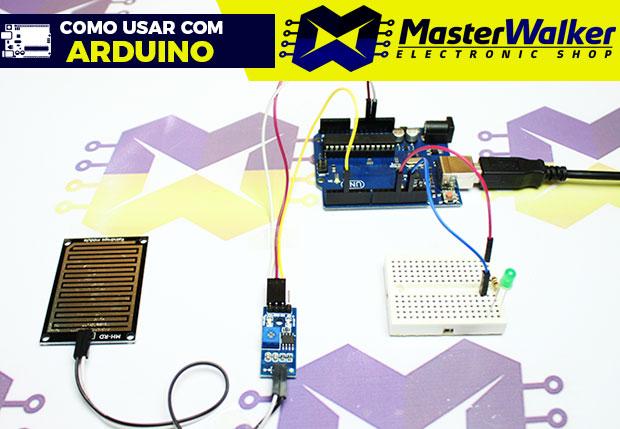Como usar com Arduino – Sensor (Detector) de Chuva