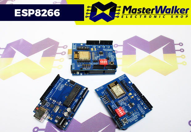 Comunicando o Shield WiFi ESP8266 com o Arduino através da Serial Nativa