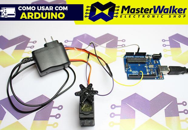Como usar com Arduino – Servo Motor MG995